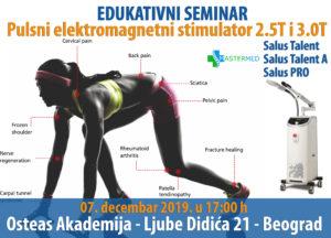 medicinski aparat salus talent seminar 1