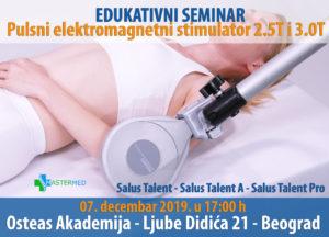 medicinski aparat salus talent seminar 2
