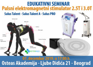 medicinski aparat salus talent seminar